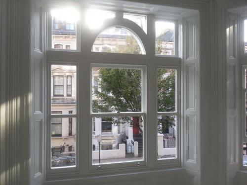 Okna typu sash #1